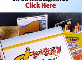 Due June 15th - Order Next Year's School Supplies