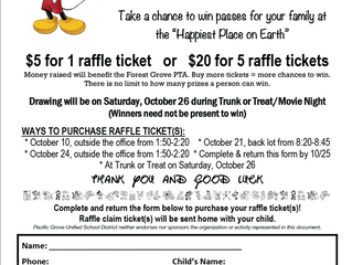 Disney Ticket Raffle
