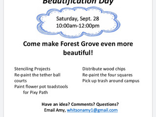 Beautification Day!