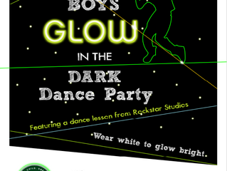 Boys' Glow in the Dark Party