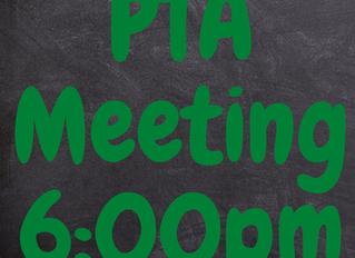 PTA Meeting TONIGHT at 6pm