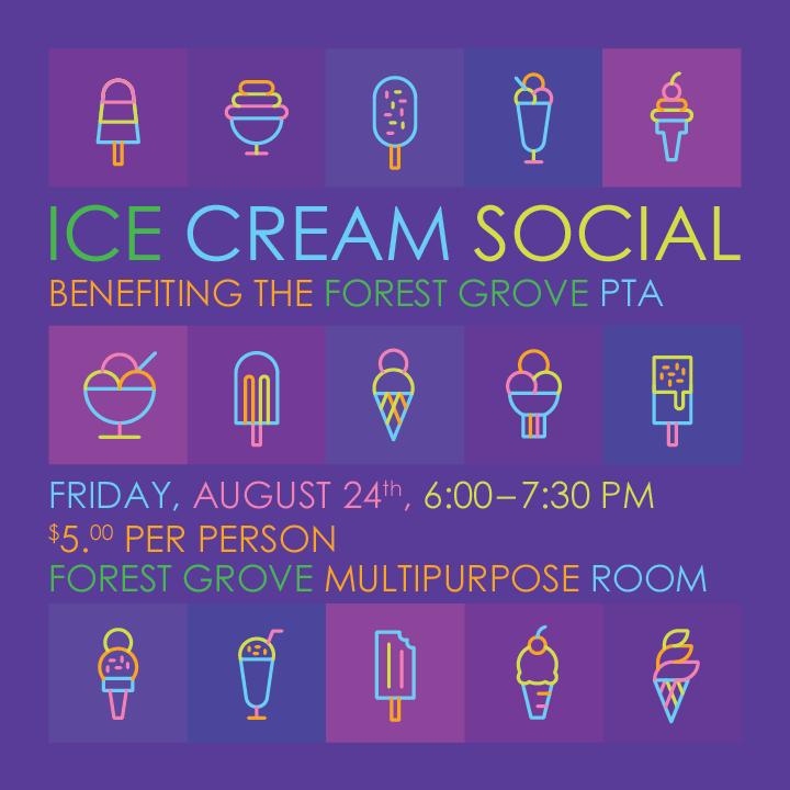 Ice Cream Social August 24th!