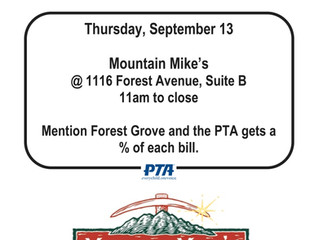 Mountain Mike's Dine Out