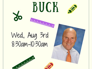 Back to School with Buck