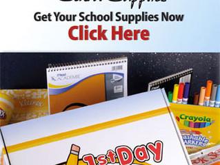Order Next Year's School Supplies