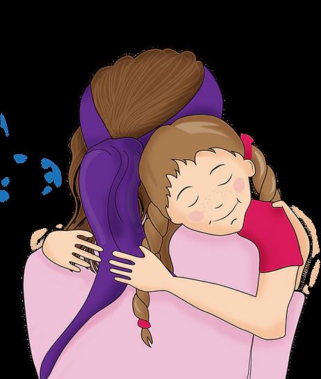Mums Purple Scarf_cuddle.png