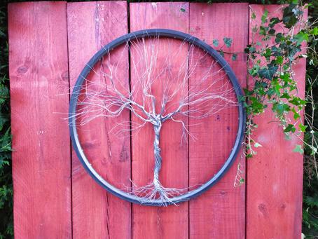 arbre de vie Titane acier
