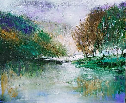 peinture abstraite Résonnance entière
