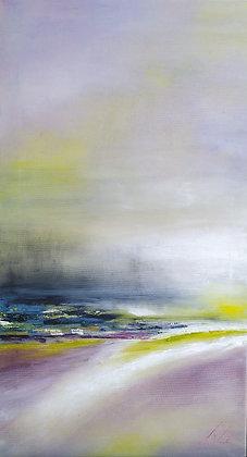 Peinture abstraite Verson gros plan