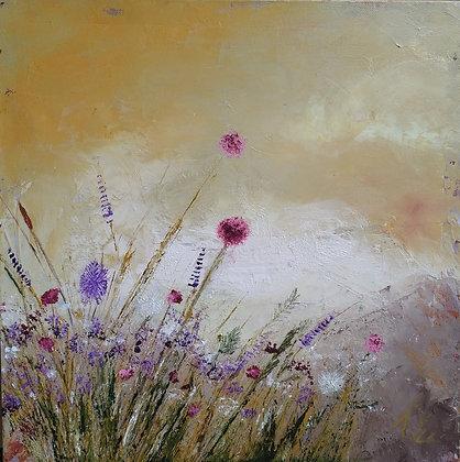 Peinture abstraite nature entier