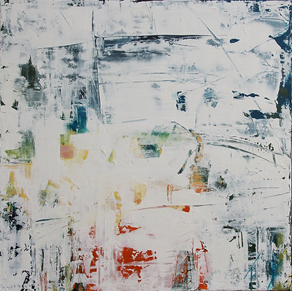 Peinture abstraite gros plan
