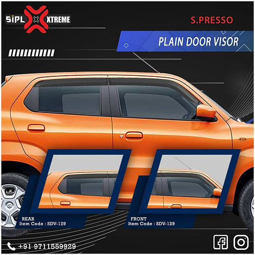 Spresso Door Visor Plain