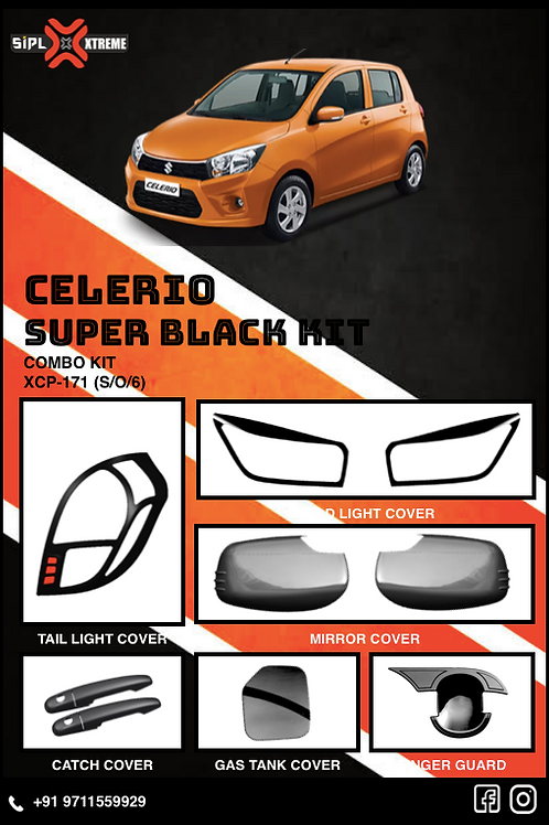 Celerio Super Black Kit (S/O/6)