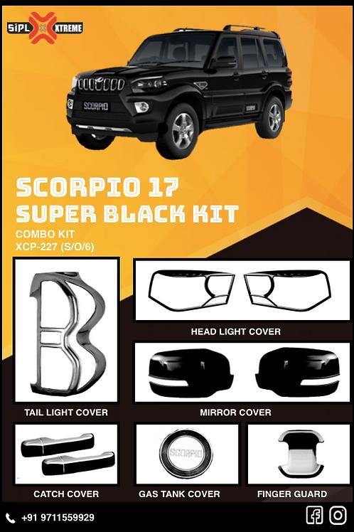 Scorpio 2017 Super Black Kit (S/O/6)