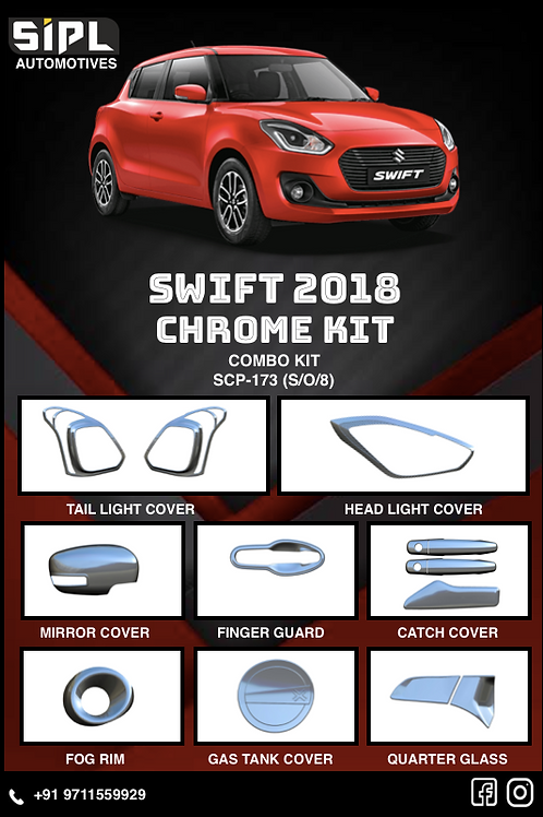 Swift 2018 Chrome Kit (S/O/8)