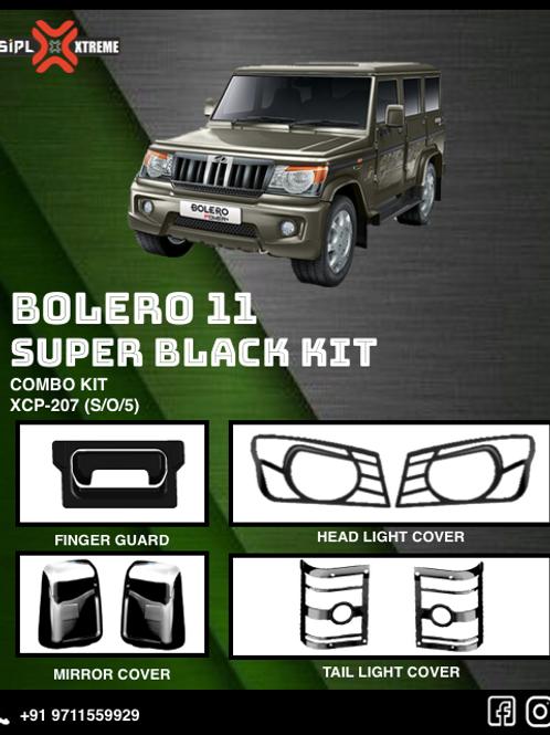 Bolero 2011-19 Super Black Kit (S/O/5)
