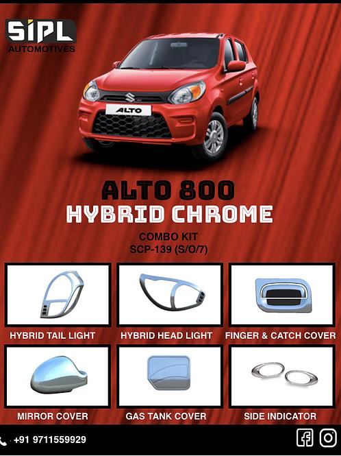 ALTO 800 Dual Chrome Kit (S/O/7)