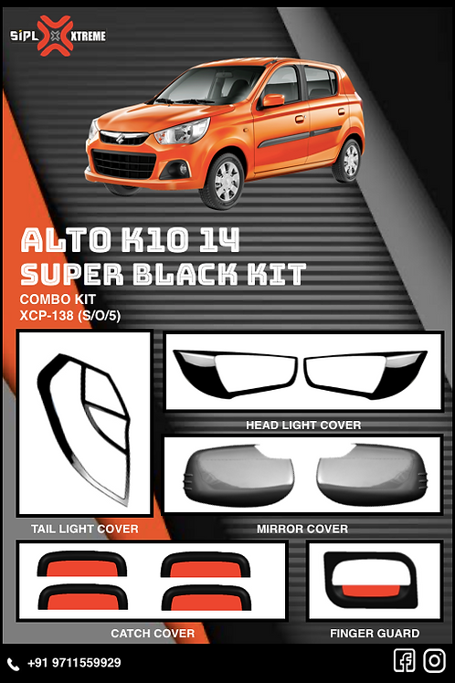 K10 2014-20 Super Black Kit (S/O5)