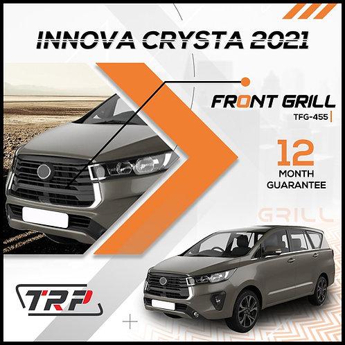 Innova Crysta 2021 FrontGrill Chrome