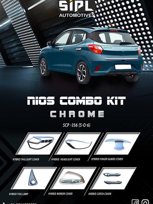 Grand i10 Nios Dual Chrome Kit (S/O/6)