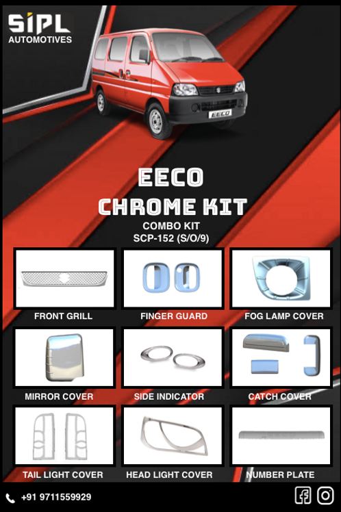 Eeco Chrome Kit (S/O/9)