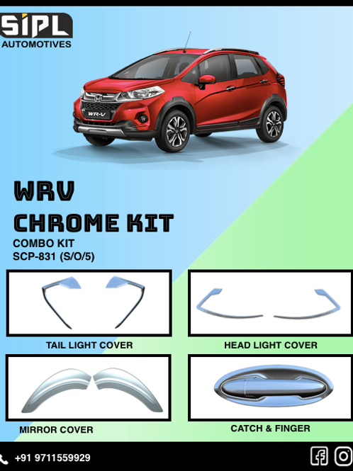Wrv Chrome Kit (S/O/5)