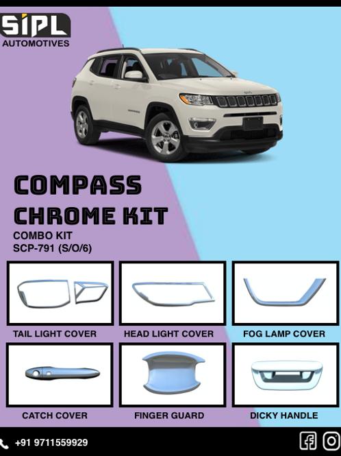 Compass Chrome Kit (S/O/6)