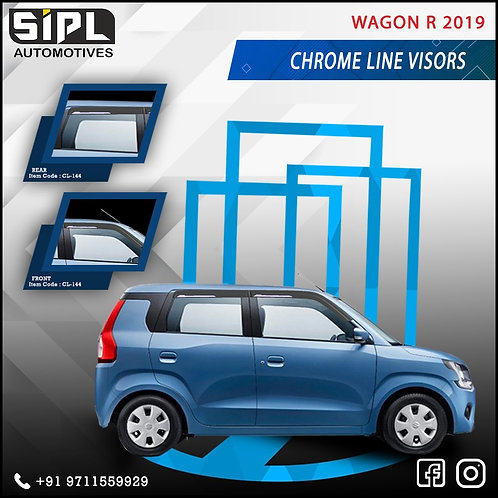 WagonR 2019 Chrome line Visor