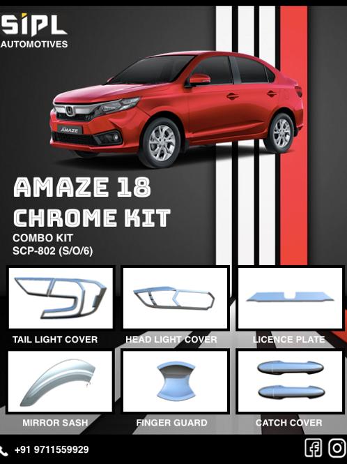 Amaze 2018 Chrome Kit (S/O/6)