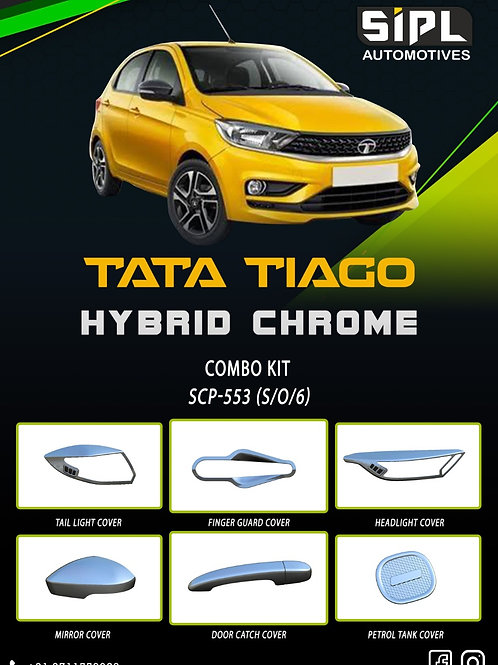 Tiago 2020 Dual Chrome Kit (S/O/6)