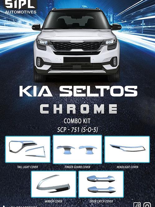 Seltos Combo Kit Chrome (S/O/5)