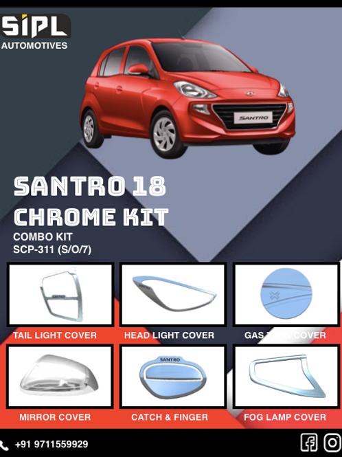 Santro 2018 Chrome Kit (S/O/7)