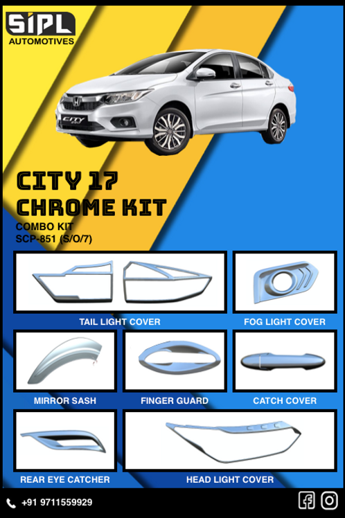 City 2017 Chrome Kit (S/O/7)