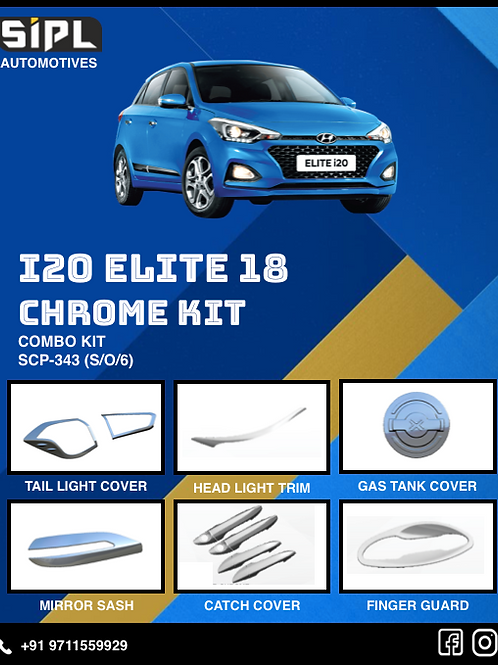 i20 Elite Chrome Kit (S/O/5)