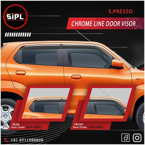 Spresso Door Visor Chromeline