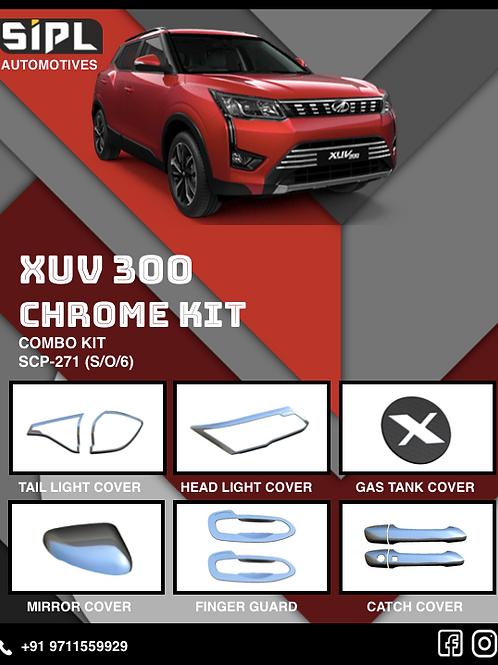 Xuv 300 Chrome Kit (S/O/6)