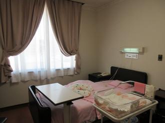 赤ちゃんと母子同室