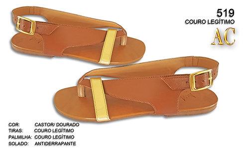 Modelo 519 sandália feminina em couro