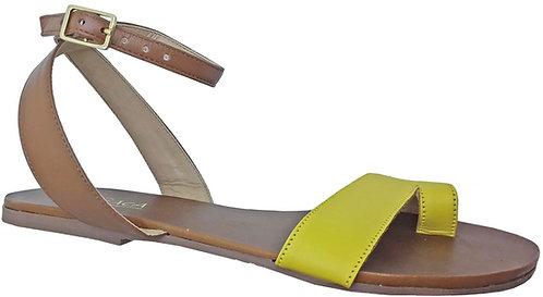 Modelo 746 sandália feminina em couro