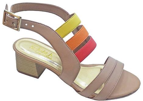 Modelo 2046 sandália feminina em couro