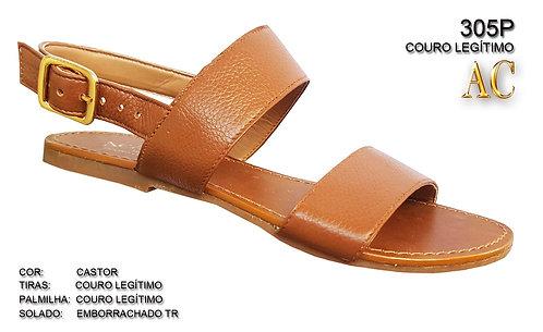 Modelo 305/P sandália feminina em couro