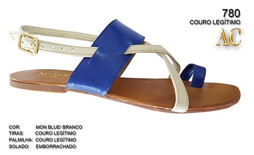 780 sandália feminina em couro