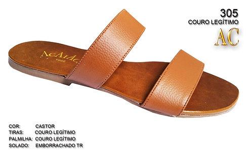 Modelo 305 sandália feminina em couro