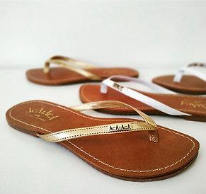 Modelo 173 sandália feminina em couro legítimo