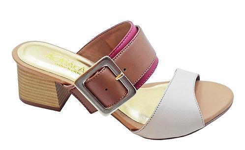 Modelo 2047 sandália feminina em couro