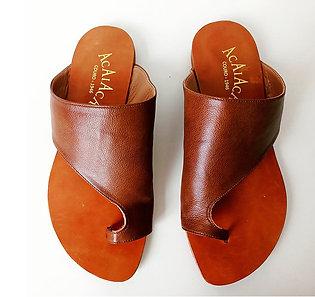 Modelo 598 sandália feminina em couro