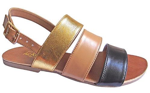 Modelo 688 sandalia feminina em couro