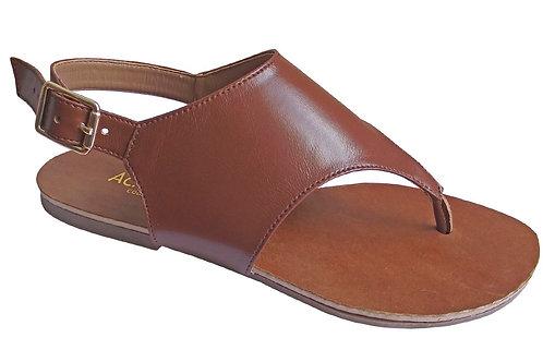 Modelo 695 sandália feminina em couro