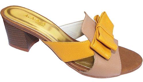 Modelo 2017 sandália feminina em couro