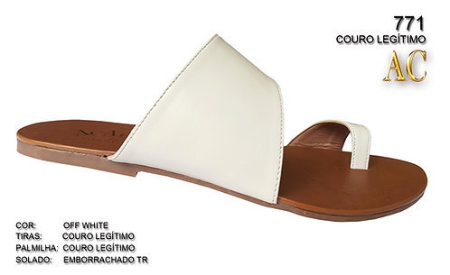 Modelo 771 sandália feminina em couro